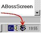 catch. ABossScreen protects privacy of your screen content.